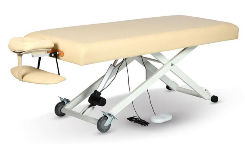 flat top electric lift massage table