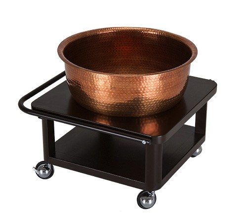 Copper Bowl Roll Up Foot Bath Foot Baths Tubs