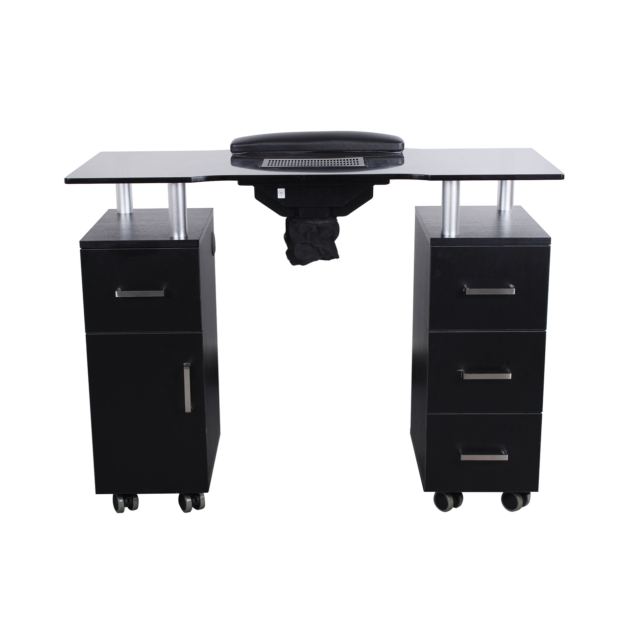 Nail Table w/Fan - Manicure Tables, Trays, and Stands   Dermalogic